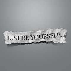 blog - be yourself